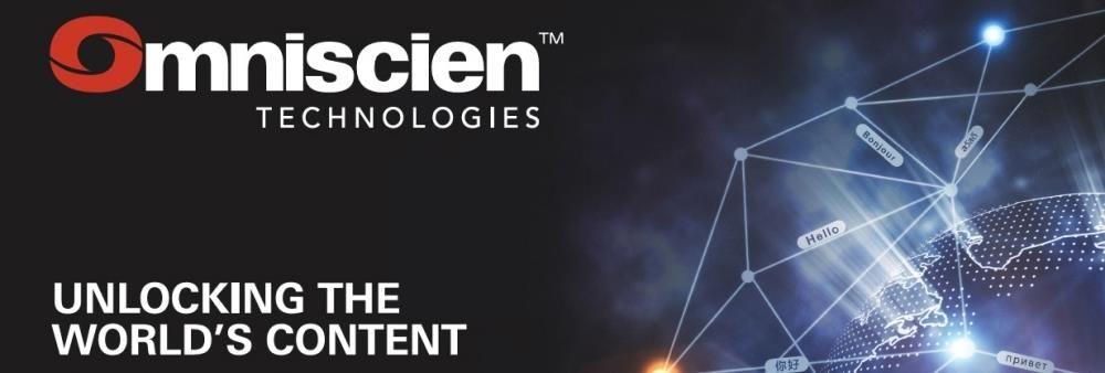 Omniscien Technologies's banner