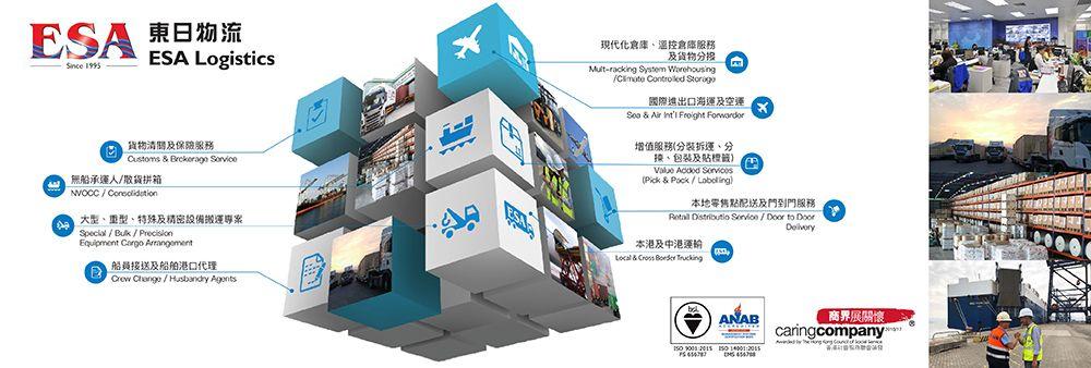 ESA Logistics (HK) Company Limited's banner