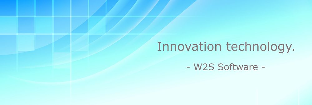 W2S Software Co.,Ltd.'s banner