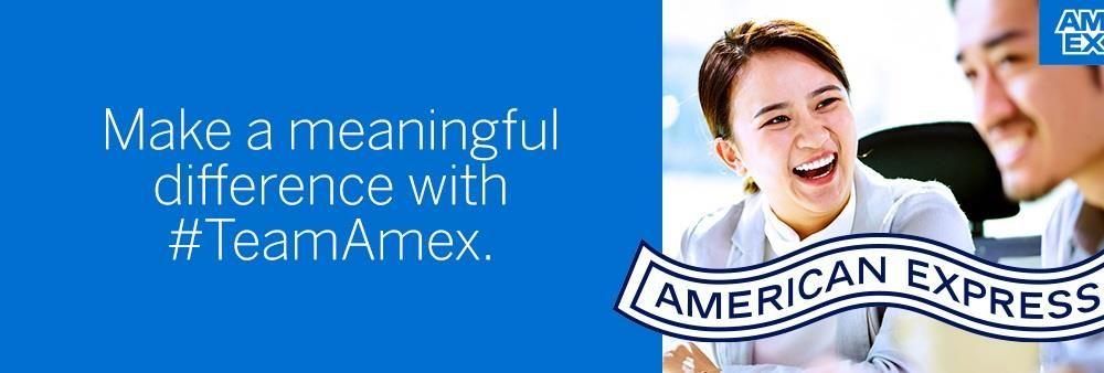 American Express International Inc.'s banner