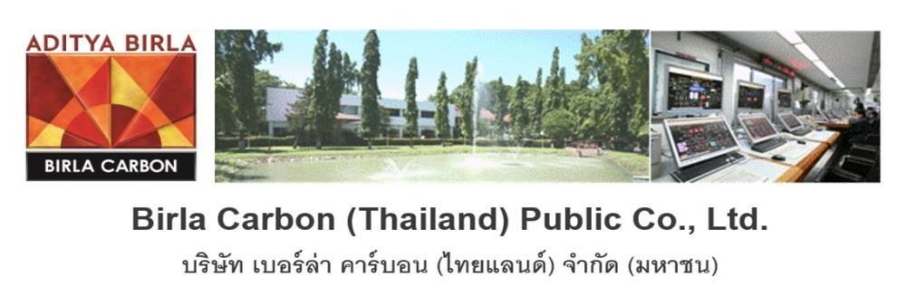 Birla Carbon (Thailand) Public Co., Ltd.'s banner