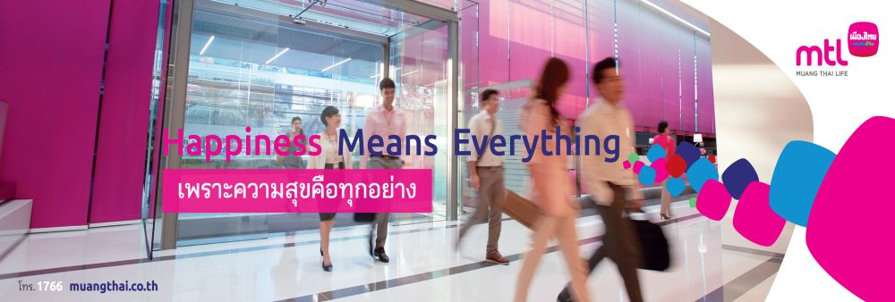 Muang Thai Life Assurance Public Company Limited's banner