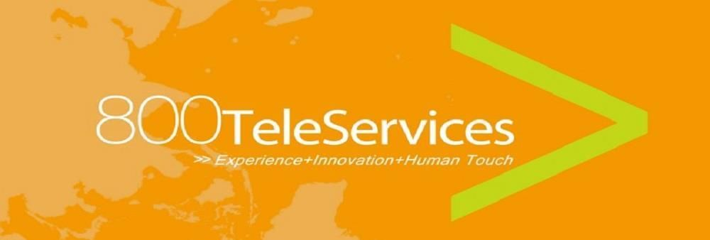 800 TeleServices (HK) Ltd's banner