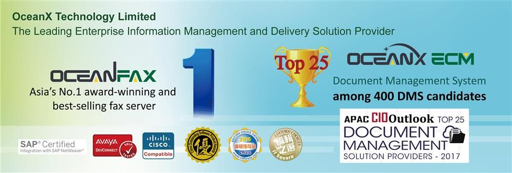 Oceanx Technology Limited's banner