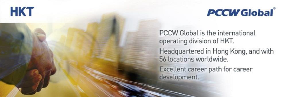 PCCW Global (HKT)'s banner