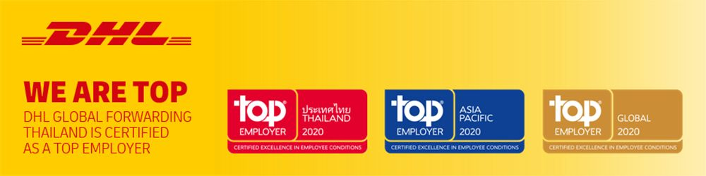 DHL Global Forwarding (Thailand) Limited's banner