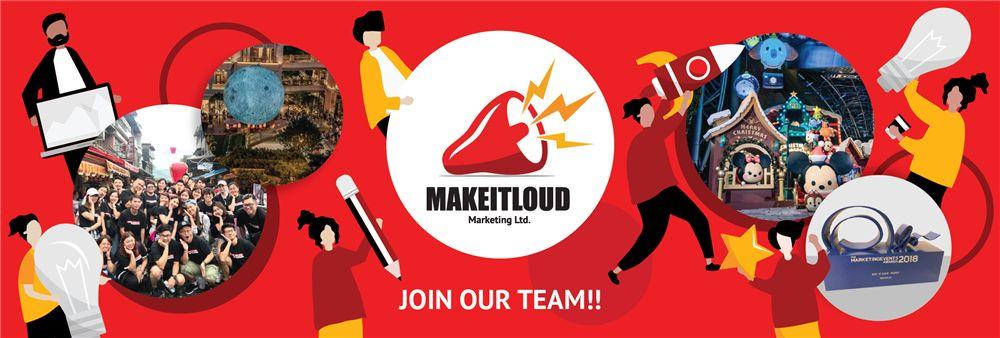 Makeitloud Marketing Limited's banner