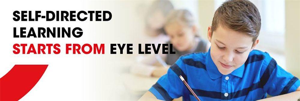 Eye Level World Education Center's banner