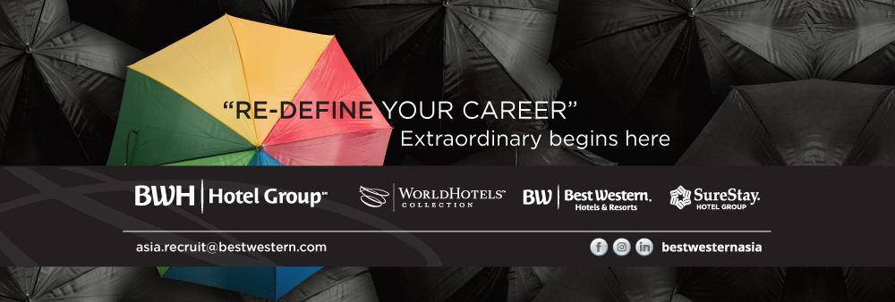 Best Western Hotels and Resorts - Asia Head Office's banner