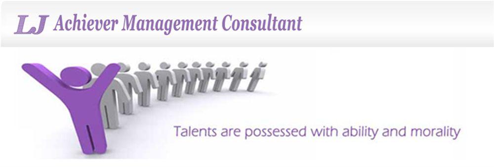 LJ Achiever Management Consultant's banner
