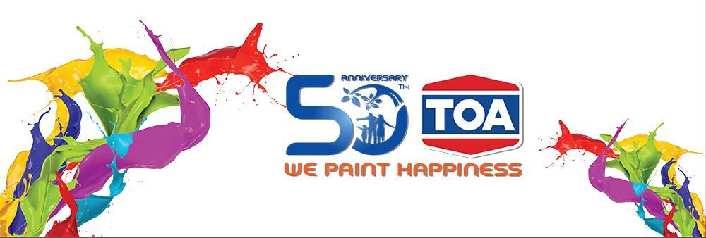 TOA Paint (Thailand) Public Company Limited's banner