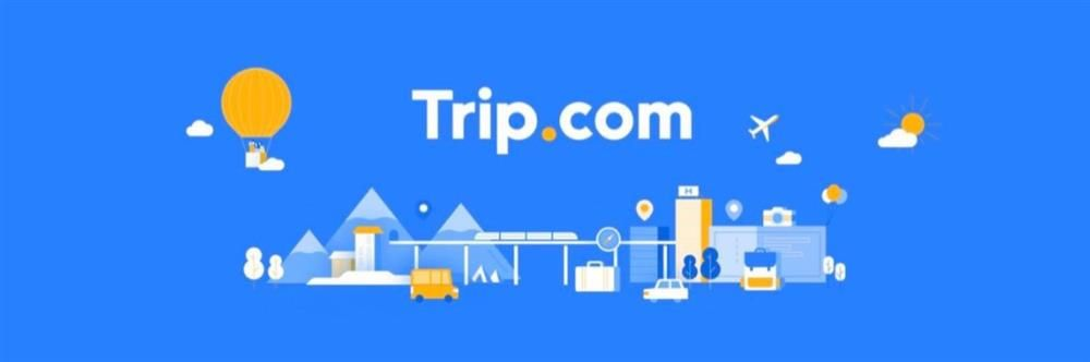 Trip.com's banner