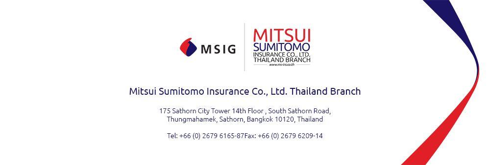 MSIG Service and Adjusting (Thailand) Co., Ltd.'s banner