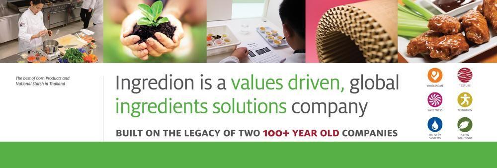 Ingredion (Thailand) Co., Ltd.'s banner