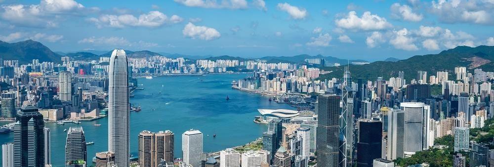 Hong Kong Tourism Board's banner