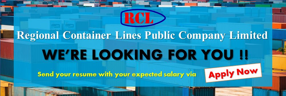 Regional Container Lines Public Company Limited (RCL Group)'s banner