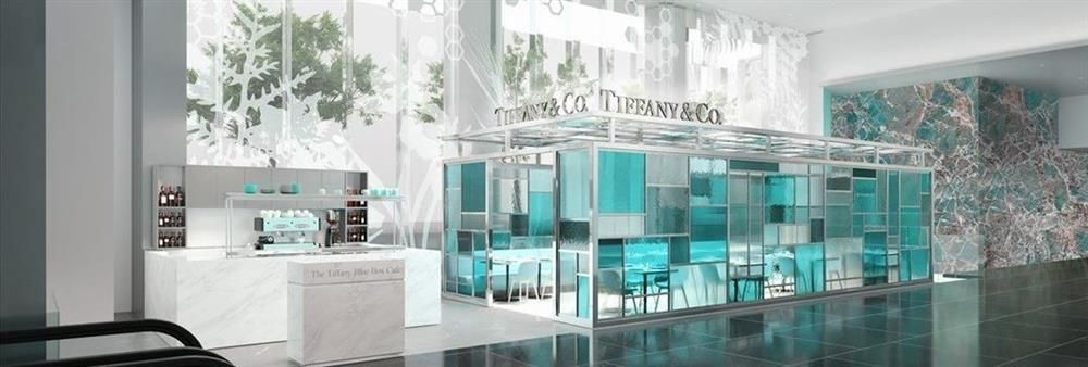The Tiffany Blue Box Cafe's banner