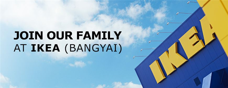 Ikano (Thailand) Limited / IKEA (Thailand)'s banner