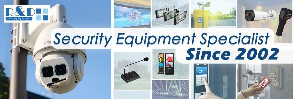 R & D Security Equipment's banner
