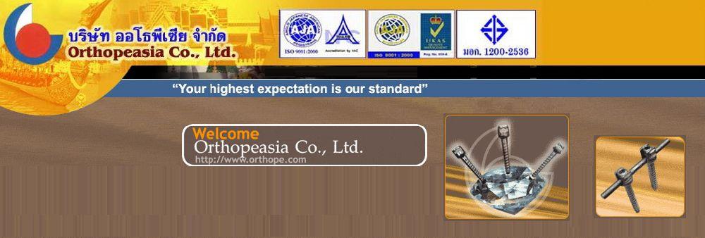 Orthopeasia Co., Ltd.'s banner