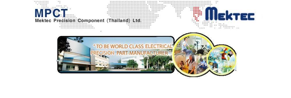 Mektec Precision Component (Thailand) Ltd.'s banner