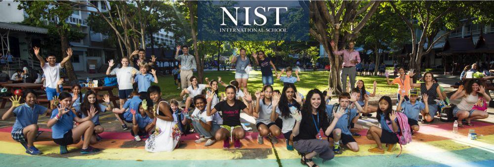 NIST International School's banner