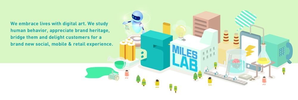 5 Miles Lab Company Limited's banner
