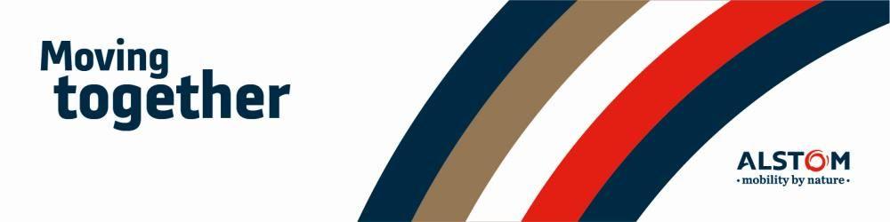 Alstom's banner