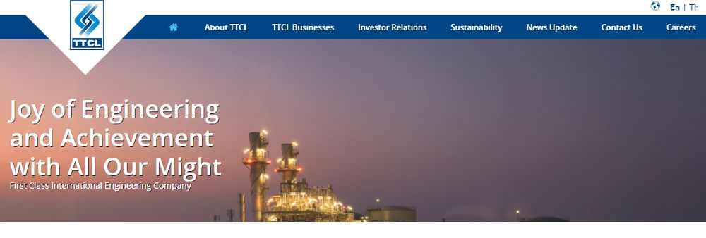 TTCL Public Company Limited's banner
