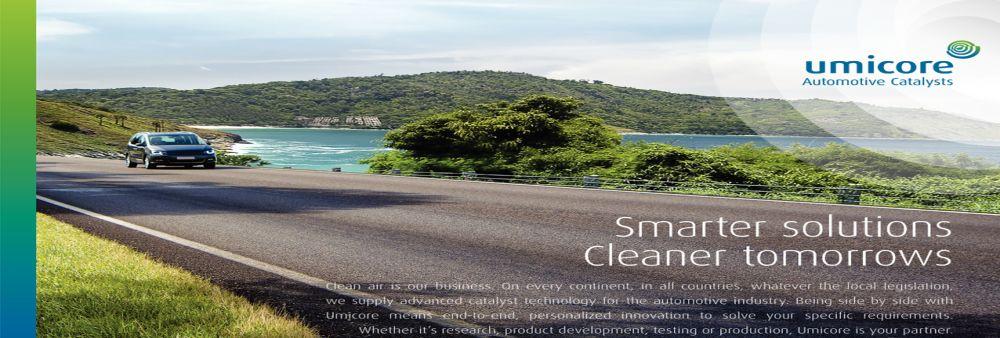 Umicore Autocat (Thailand) Co., Ltd.'s banner