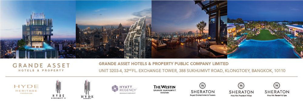 Grande Asset Hotels And Property Public Co., Ltd.'s banner