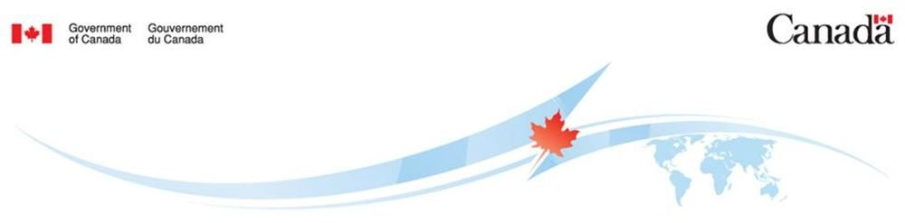 Embassy of Canada's banner