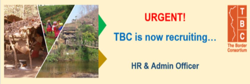 The Border Consortium (TBC)'s banner