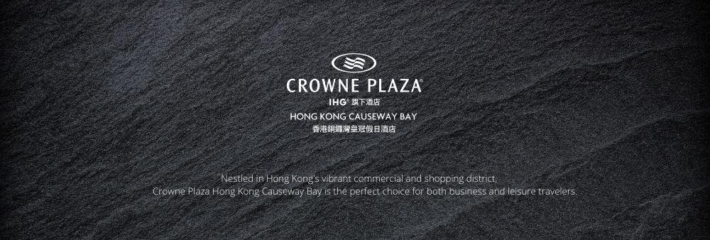 Crowne Plaza Hong Kong Causeway Bay's banner