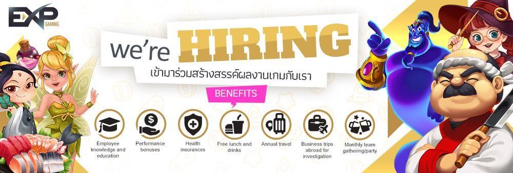 EXP Gaming Co., Ltd.'s banner