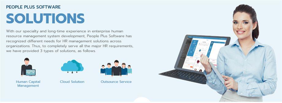 People Plus Software Co., Ltd.'s banner