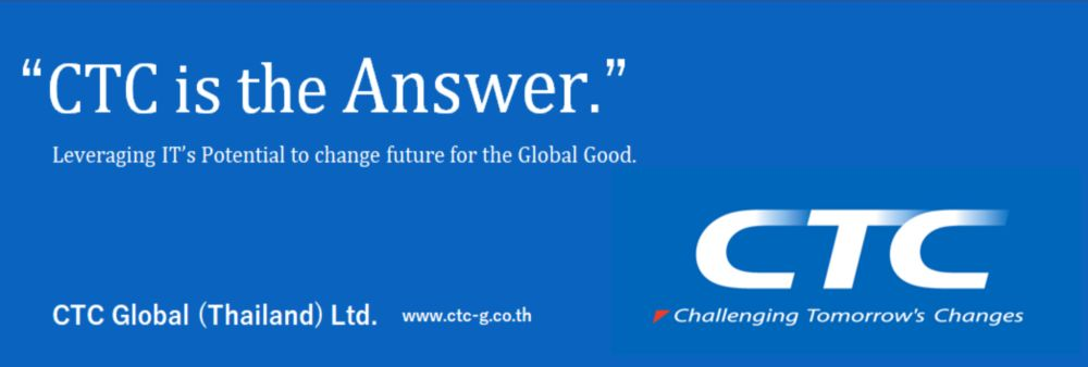 CTC Global (Thailand) Ltd.'s banner