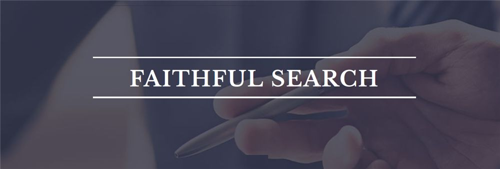 Faithful Search Company's banner