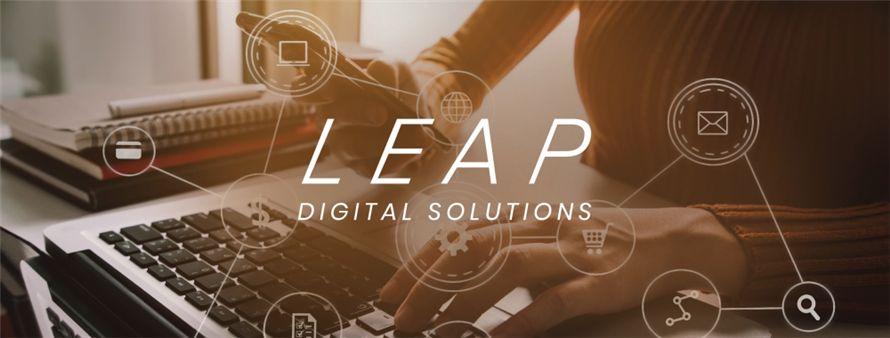 Leap Digital Agency's banner