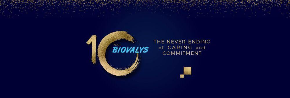 Biovalys Co., Ltd.'s banner