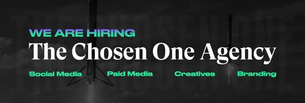 The Chosen One Agency's banner