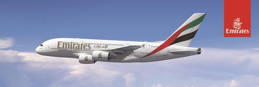 Emirates Airline's banner