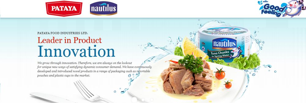 PATAYA FOOD GROUP's banner