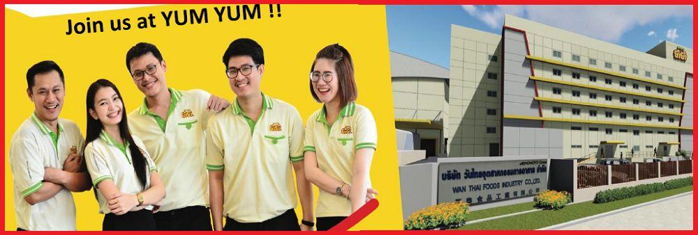 Wan Thai Foods Industry Co., Ltd.'s banner