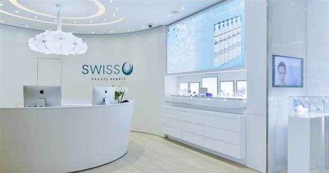 Swiss o beauty expert's banner