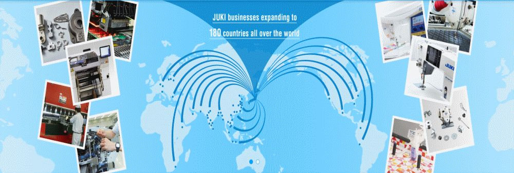 Juki (Thailand) Company Limited's banner