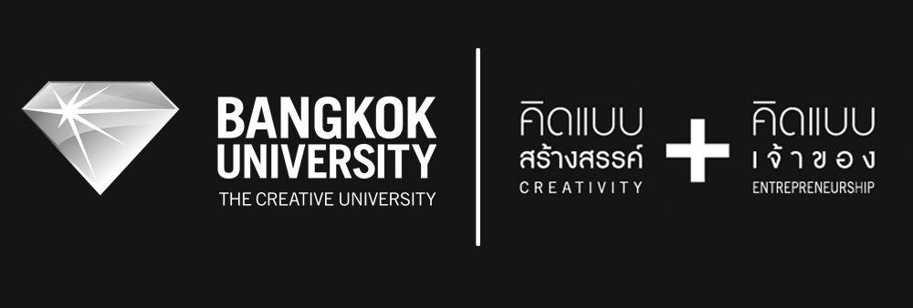 Bangkok University's banner