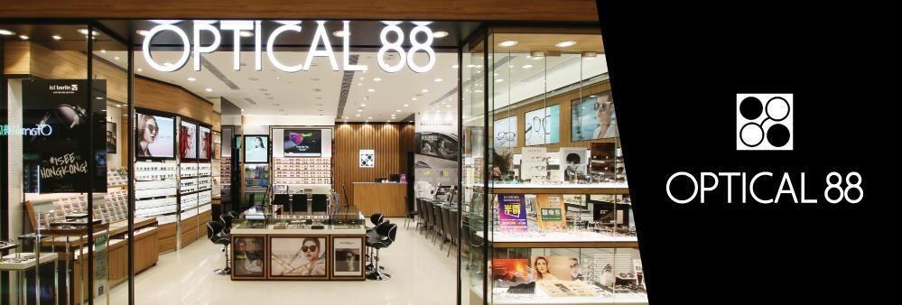 眼鏡88有限公司 OPTICAL 88 Limited's banner