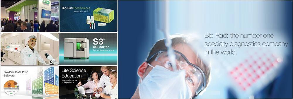 Bio-Rad Laboratories Ltd.'s banner