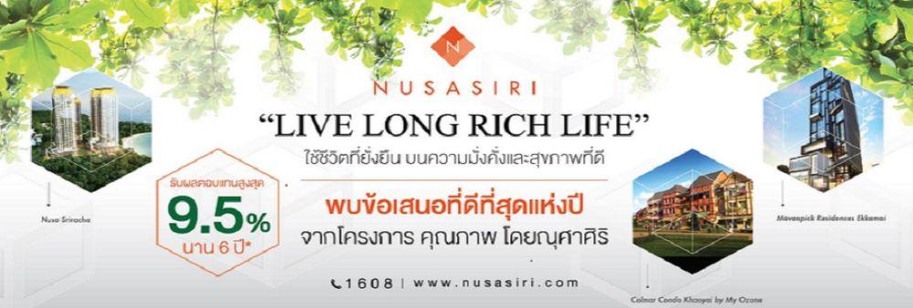 Nusasiri Public Company Limited's banner